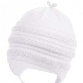Jamiks přechodné čepice pro dívky bílá NATA JWB032-1