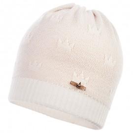 Jamiks klobouk pro dívky přechod ekri NAVIA JWB142-3