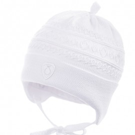 Jamiks přechodové čepice pro chlapce bílá ROJEN JWB160-4
