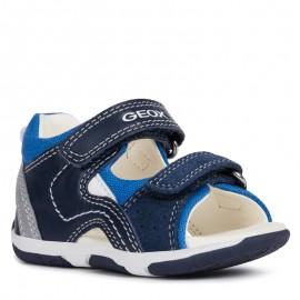 Geox sandály pro chlapce granát B920XB-08522-C4226