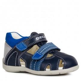 Geox sandály pro chlapce granát B9250B-08522-C0700