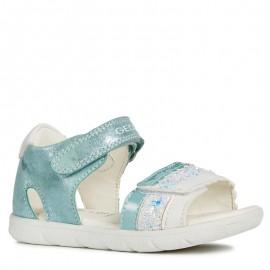 Geox sandály pro dívky tyrkysová B921YB-0MABC-C4070