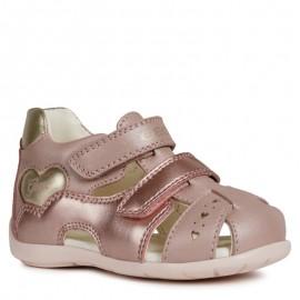 Sandály Geox pro dívky růžové B9251A-044AJ-C8252