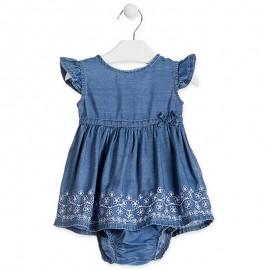 Losan dívčí šaty džíny 918-7015AA-741