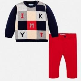 Mayoral 2586-81 svetr s kalhotami pro přítel granát
