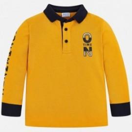 Dětské oblečení Mayoral 4112-10 Chlapec je polo tričko žlutý