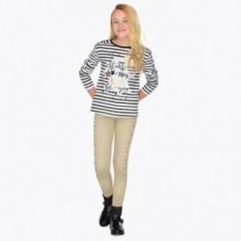 Mayoral 7534-20 Dívky dlouhé kalhoty béžové