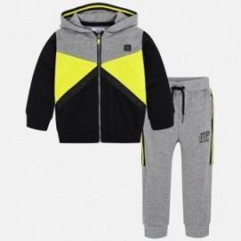 Mayoral 4802-92 Dětská tepláková souprava pro chlapecké kalhoty a žlutou mikinu