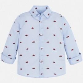 Mayoral 4146-74 Košile chlapecká modrá