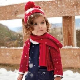 Mayoral 2336-45 Dívčí svetr červený