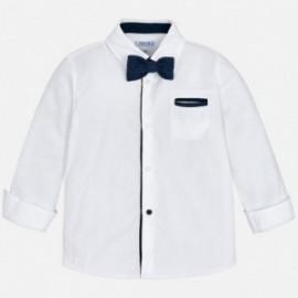 Mayoral 4138-94 Košile chlapecká bílá barva