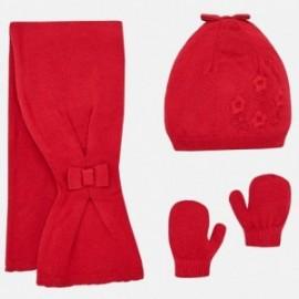 Mayoral 10461-19 Set zimní dívčí červená