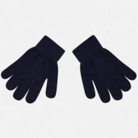 Mayoral 10476-53 dětské rukavice barva tmavě modrá