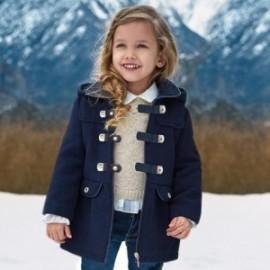 Mayoral 4495-39 Plášť dívčí fleece granát