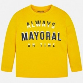 Mayoral 173-50 tričko chlapecká zlatá barva