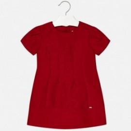 Mayoral 4944-58 Dívčí šaty červené