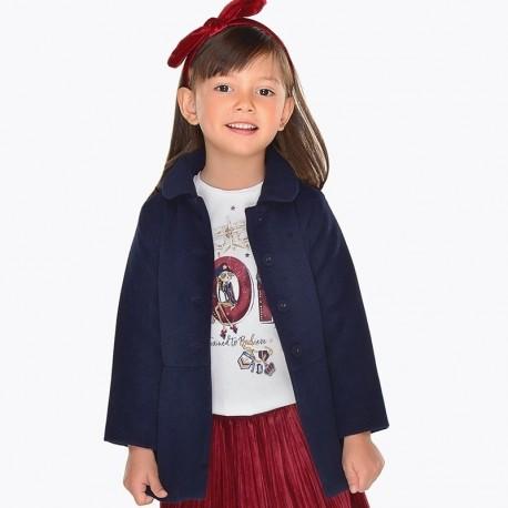Mayoral 4496-54 kabát dívčí granát