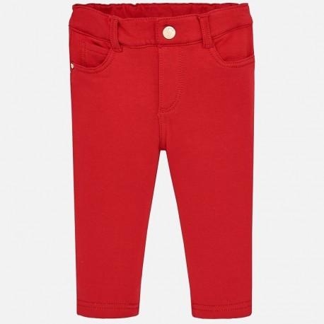 Mayoral 560-60 Dívčí červené kalhoty.