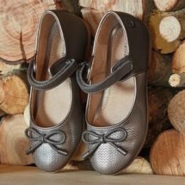 Mayoral 44821-19 Dívčí boty grafitové baleríny
