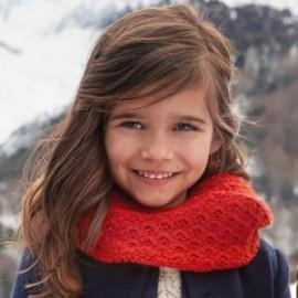 Mayoral 10503-25 Zimní dívčí červený komín