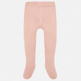 Mayoral 10453-70 Punčochové kalhotky dívčí růžové barvy