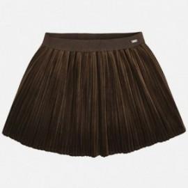 Mayoral 4920-80 Dívčí sukně hnědá barva