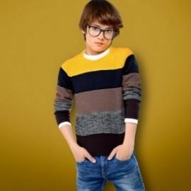 Mayoral 7302-36 Chlapec je svetr v pásech s dlouhými rukávy