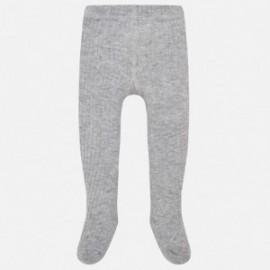 Mayoral 10453-72 Punčochové kalhoty šedé barvy