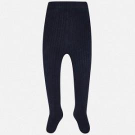Mayoral 10453-74 Punčochové kalhoty dívčí granátové barvy