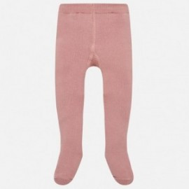 Mayoral 10451-38 Dívčí punčochy růžová barva