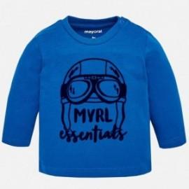 Mayoral 108-10 Chlapecká košile s dlouhým rukávem, modrá