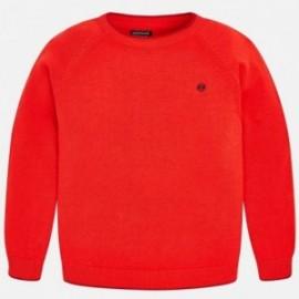 Mayoral 354-58 Bavlněný svetr chlapecký červená