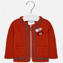 Mayoral 2468-95 Dívčí červená bunda