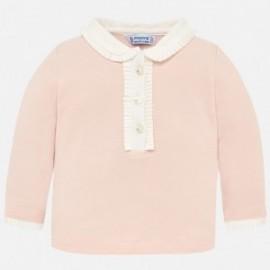 Mayoral 104-26 Polo tričko pro dívčí růžovou