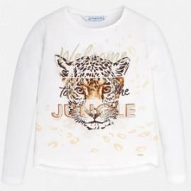 Mayoral 7046-41 Dívčí tričko barevný krém