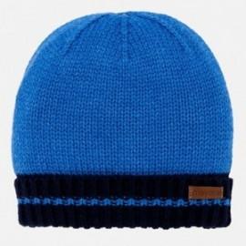 Mayoral 10449-36 Chlapci čepice pro zimní modrá