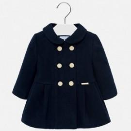 Mayoral 2480-52 Dívčí kabát granát