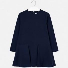 Mayoral 7942-85 Dívčí šaty barva tmavě modrá