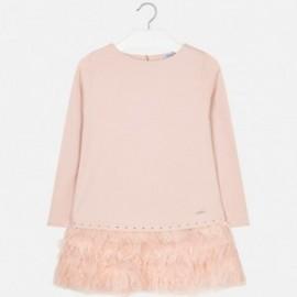 Mayoral 7940-34 Dívčí šaty růžové barvy