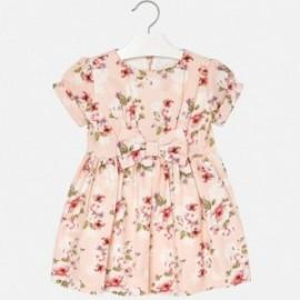 Mayoral 4936-47 Dívčí šaty s potiskem růžový