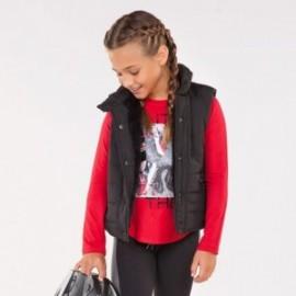 Mayoral 7415-78 Vest dívčí oboustranná černá