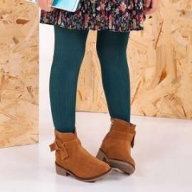 Mayoral 10497-65 Dívčí punčochy zelená barva