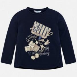Mayoral 4056-25 Tričko s potiskem holčičí granát