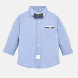 Mayoral 2128-38 Košile obřad s motýlkem chlapci modrý