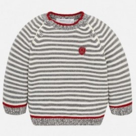 Mayoral 2306-51 svetr v proužcích chlapecký béžový