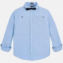 Mayoral 7136-49 Chlapecká košile s motýlkem modrý