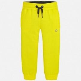 Mayoral 725-24 Kalhoty tepláky chlapci žlutý