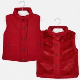 Mayoral 4470-43 Dívčí červená vesta