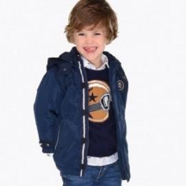 Mayoral 4402-70 bunda ortalionowe s kapucí chlapci granát