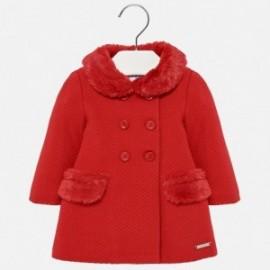 Mayoral 2482-57 kabát pletený dívčí červená